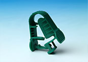 Multi-cavity molds for clamps.